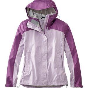 L.L. Bean Packable Colorblock Rain Jacket